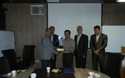 مراسم تکریم از خدمات جناب آقای دکتر صالح پور