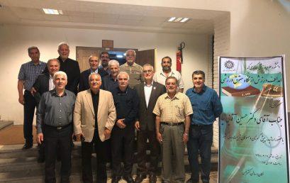 برگزاری جلسه آشنایی با حقوق ورزشی با سخنرانی دکتر حسین آقایی نیا