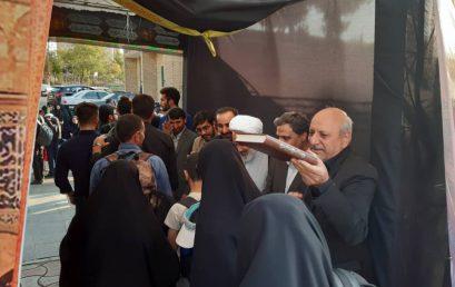 با بدرقه مسئولین و دانشجویان دانشگاه تربیت دبیر شهید رجایی انجام شد