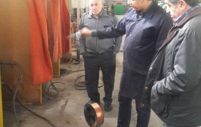 جلسه ارزیابی دستگاه های جوشکاری و تعمیرات آنها