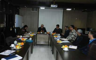 برگزاری جلسه مشترک شورای آموزشی دانشکده و مدیران حوزه آموزشی دانشگاه