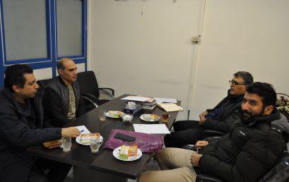 برگزاری جلسه با همکاران کارگاهی