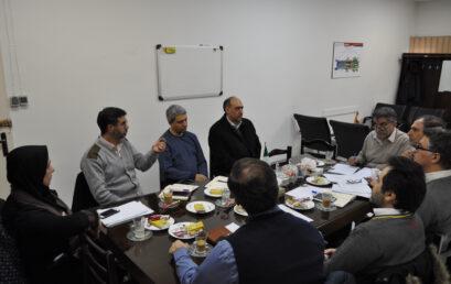 جلسه معاونت آموزشی دانشگاه با شورای آموزشی دانشکده